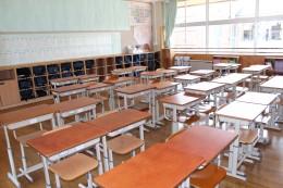 1年5組教室風景